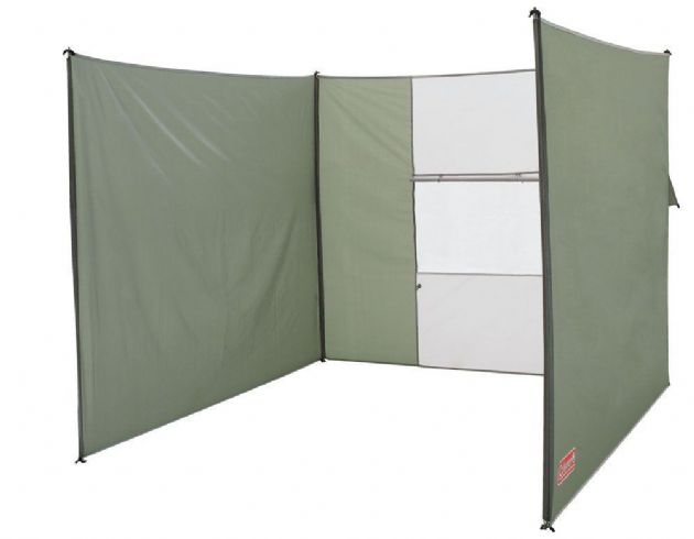 Coleman Windshield Classic, Tent Camping Beach WindBreak - Grasshopper Leisure